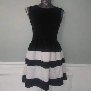 Bar lll size large color block dress..